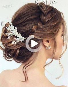 Livraison SUIVIE 48H Peigne Florale Strass Coiffure Chignon Mariage Soirée