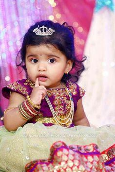 Ref Baby Girl Dress Patterns, Dresses Kids Girl, Kids Outfits, Baby Dresses, Girls, Cute Baby Girl Pictures, Baby Photos, Kids Ethnic Wear, Kids Blouse Designs