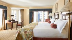 Boston Harbor Hotel: Harbor King Superior Rooms are 500 square feet and have sitting areas and harbor views.