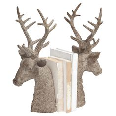 Stag Bookend.