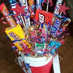 Candy Bouquet How-to- great for gifts!