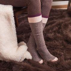 5a23f7655 Muk Luks 3 Pair Knee High Socks - Womens