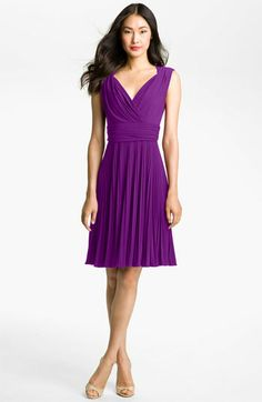Suzi Chin for Maggy Boutique Pleated Jersey Fit & Flare Dress available at Nordstrom$148.00