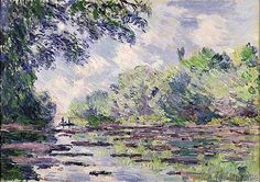 Claude Monet - The Seine at Giverny, 1885
