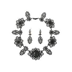 Berlin Iron necklace and earrings