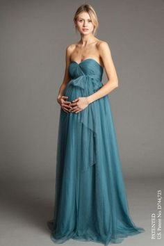 Jenny Yoo maternity evening gown