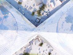 video googles new california headquarters is a greenhouse utopia by big and heatherwick big heatherwick futuristic google hq
