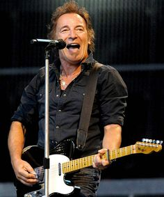 BRUCE SPRINGSTEEN. And the E STREET BAND, no less.