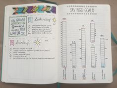 A DIY bullet journal lets you creatively set your goals for the week, month or year.