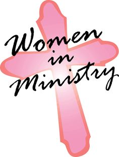I hope to one day be in women's ministry