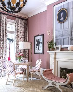 Contemporary meets yesteryear glamour in this Alessandra Branca designed room. Kips Bay Showhouse.