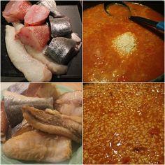 Mi puchero: Caldero murciano o Cartagena y cartagenera preciosa Murcia, Food And Drink, Fish, Meat, Chicken, Spain, Gastronomia, Soups And Stews, Rice