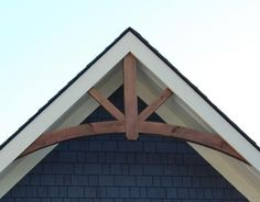 timber frame gable end detail - Google Search