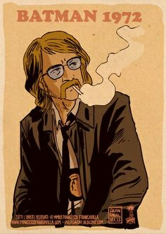 1970s grindhouse Commissioner Gordon. Dig the Serpico style.