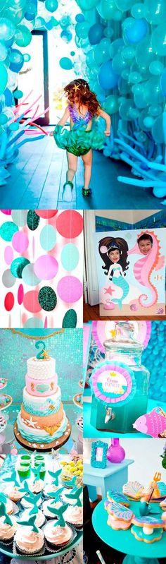 Fiestas de cumpleaños Sirenas