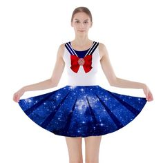 Galaxy Sailor Moon Skater Dress XS-3XL · Much Needed Merch · Online Store Powered by Storenvy