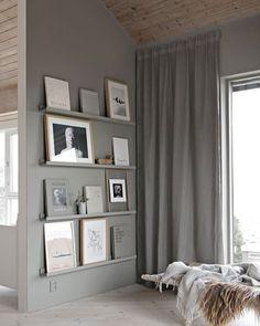 Paint ikea photo ledges like wall plus more — little magic tricks to make your ikea Diy Home Decor Easy, Diy Home Decor Bedroom, Decor Room, Wooden Furniture Bedroom, Bedroom Wall, Ikea Wall Decor, Easy Diy, Ikea Furniture, Luxury Furniture