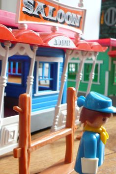 playmobil.  Many hours were spent playing with these different sets.