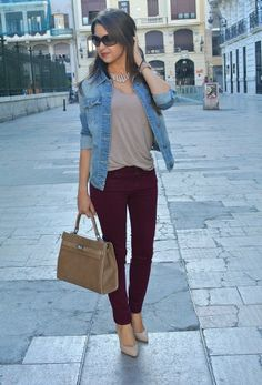 Burgundy | Chicisimo
