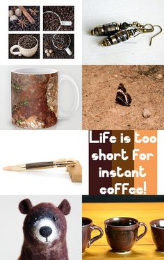 Morning Coffee by Rhian on Etsy--Pinned with TreasuryPin.com