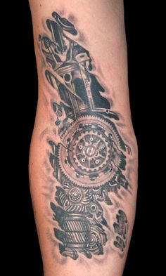 car engine tattoo - Google Search