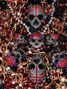 union jack skulls