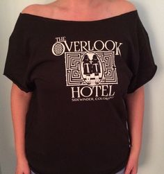The Overlook Hotel T-shirt by RetroCoutureandMore on Etsy https://www.etsy.com/listing/253171216/the-overlook-hotel-t-shirt