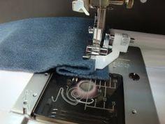 Varrógépcentrum: Rejtett öltés, vagy másnéven vakvarrás Sewing, Knitting, Crochet, Scrappy Quilts, Creative, Dressmaking, Couture, Tricot, Stitching
