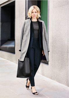 Sienna Miller - coupe au carré souple parfaite