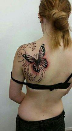 Butterfly tatt.