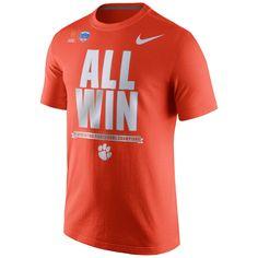 Clemson Tigers NIKE NCAA College Football Playoff 2016 Fiesta Bowl Champions Locker Room T-Shirt