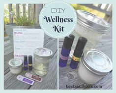Looking for a way to use your Young Living Essential Oils? How about a DIY Wellness kit?