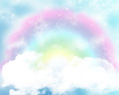 Hey, I found this really awesome Etsy listing at https://www.etsy.com/listing/386514710/vintage-clouds-rainbow-photo-backdrop