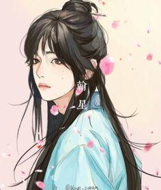 Taehyung I purple you Bts V Hwarang Taehyung, Taehyung Fanart, Fanart Bts, Vkook Fanart, V Hwarang, Bts Concept Photo, Kpop Drawings, Fanarts Anime, Amazing Drawings
