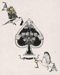ace-of-spades by huebucket, via Flickr