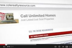 Sell More Homes Using Cole Realty Resource