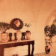 The hall at 'La Colombaia.' #luchinovisconti #italy