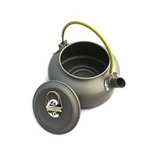Aluminum Outdoor Camping Hiking Teakettle Teapot Cookware Grey, 0.8L (0.8L) *** Read more  at the image link.