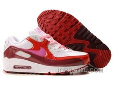 best service 5a3eb f2b00 NIKE AIR MAX 90 WOMENS DEEP RED PINK WHITE RED SUPER DEALS … – Looks  Magazine   Home of look, Luxury style and Fashion Trend Coverage