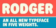 Rodger - Webfont & Desktop font « MyFonts