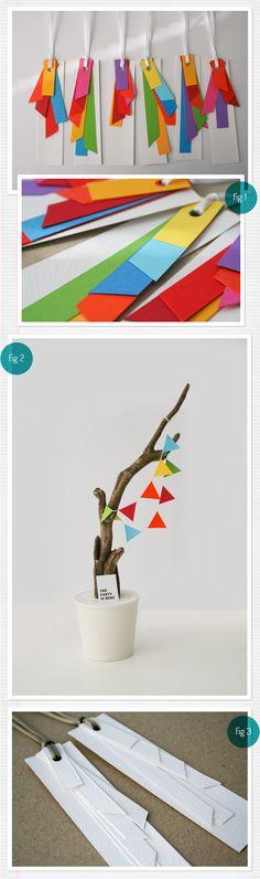 Nane Handmade es una persona increíble. Tres pedazos de papel de colores nunca crearon algo tan bello.