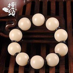 tanson®natural nepal gelang pria 18-21mm Tibet beringin akar batu akik dan perempuan harus menyerahkan pada – USD $ 30.80