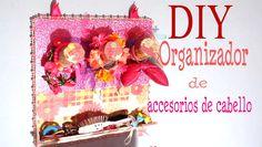 Otra idea para organizar tus accesorios, ligas de cabello, ganchitos, etc. Organizador de diademas: https://www.youtube.com/watch?v=9tJRHKXEZMY Material que ...