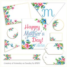 Mother's Day Printable Pack at Yesterday on Tuesday, featured @printabledecor1