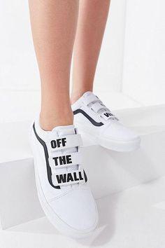Vans OFF THE WALL Atwood kindersneakers met legerprint