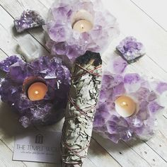 SAGE SMUDGE STICK Meditation Corner, Burning Incense, Smudge Sticks, Lilac Color, Open Window, Drying Herbs, Tea Light Holder, Smudging, Tea Lights