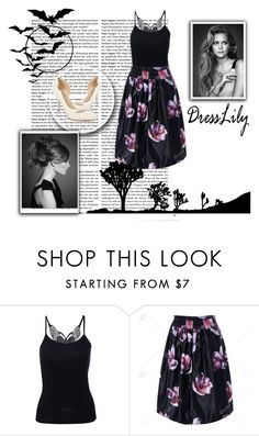 """""""Dresslily 1"""" by saaraa-21 ❤ liked on Polyvore featuring dresslily"""