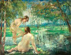 Bathers Vitaly Gavrilovich Tikov