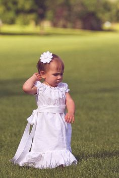 Baptism Dress, but in Cotton!
