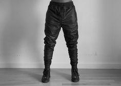 Basic Lambskin Sweatpant No.1 Now Available  www.AuCourant.co/shop